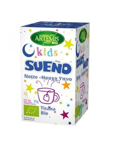 Tisana kids sueño Bio 20 filtros Artemis