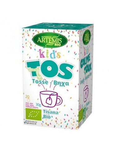 Tisana kids tos 20 filtros Artemis
