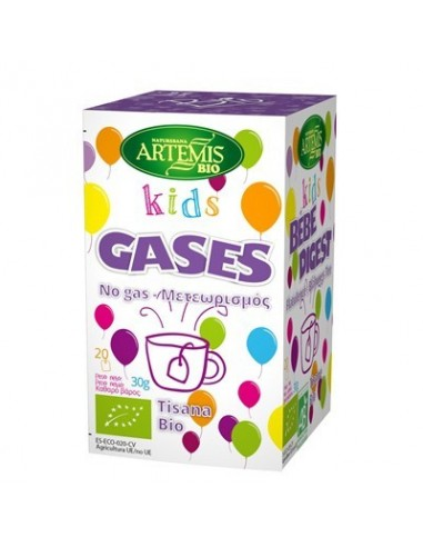 Tisana kids gases Bio 20 filtros Artemis