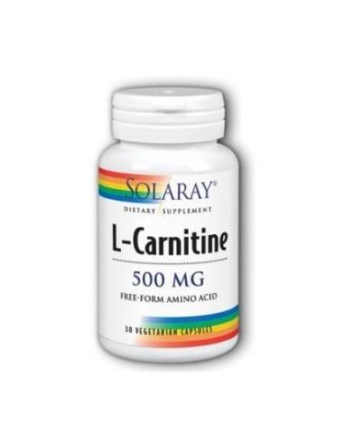 L-Carnitine 500mg 30caps Solaray