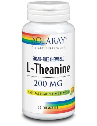 L-Theanina 200mg 30comp masticables...