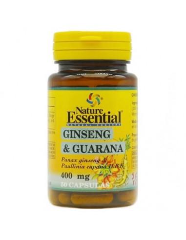 Ginseng y guaraná 400mg 50caps Nature...
