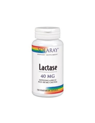 Lactase 40mg 4000 FCC 100caps Solaray