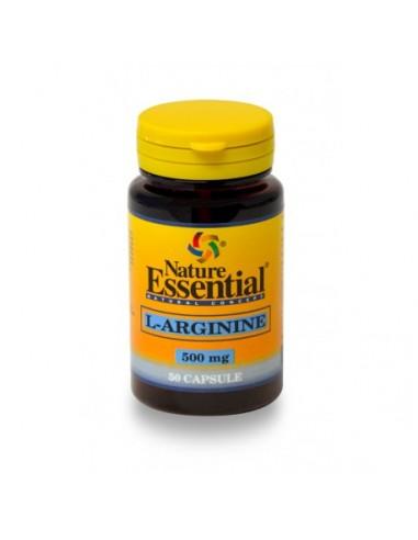 L-arginina 500mg 50caps Nature Essential