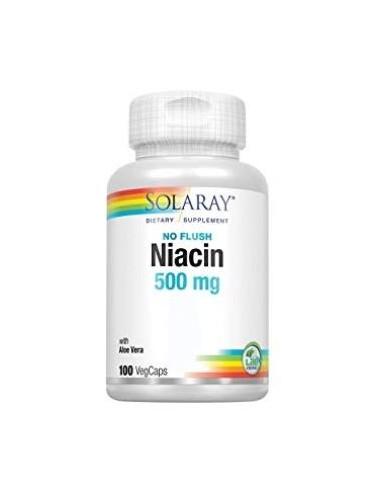 Niacin 500mg 100caps Solaray