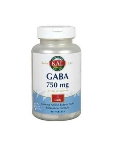 GABA 750mg 90comp KAL
