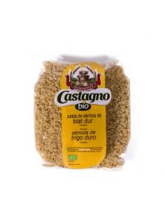 Letras de sémola de trigo...