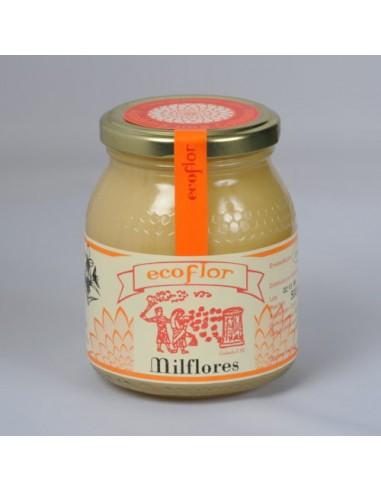 Miel de milflores Bio 500g Ecoflor