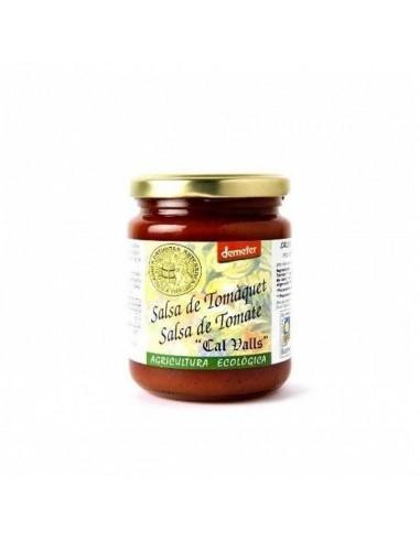Salsa de tomate con albahaca Bio 350g...