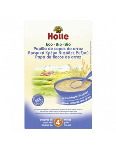 Papilla de copos de arroz Bio 250g Holle