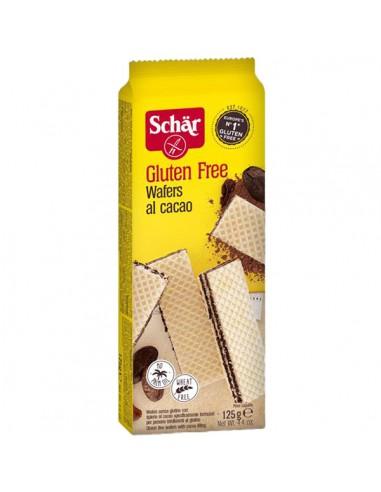 Barquillos al cacao 125g Schär