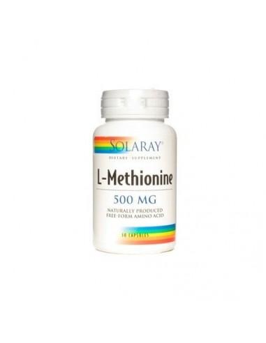 L-Methionine 500mg 30caps Solaray