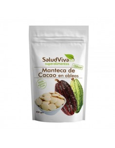 Manteca de cacao obleas Bio...