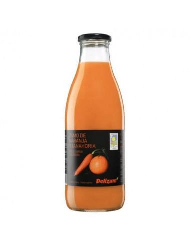 Zumo de naranja y zanahoria Bio 1l...