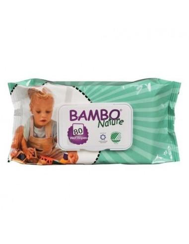 Toallitas húmedas bebe Bio 80ud Bambo...