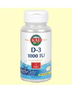 Vitamina D3 1000 UI 100...