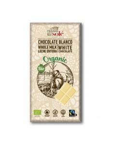 Chocolate blanco Bio 100g Solé