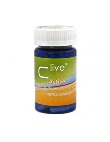 C Live active calostro 60caps Vbyotics