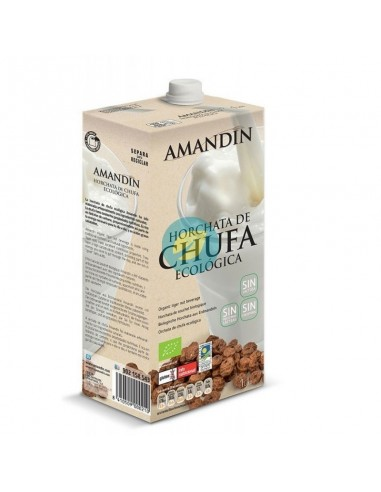 Horchata de chufa Bio 1l  Amandin