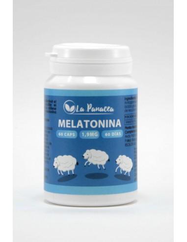 Melatonina 1,9mg 60caps La Panacea