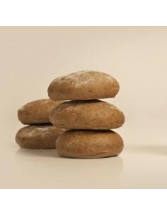 Molletes de trigo y centeno...