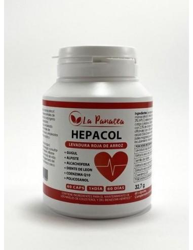 Hepacol 60caps La Panacea