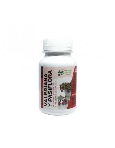 Valeriana y passiflora 450mg 90caps GHF