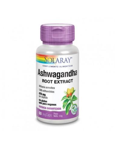 Ashwagandha 60caps Solaray