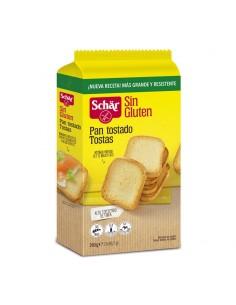 Pan tostado sin gluten 260g...