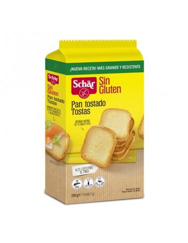 Pan tostado sin gluten 260g Schär