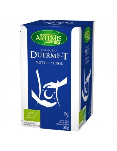 Tisana duerme t Bio 20 filtros Artemis