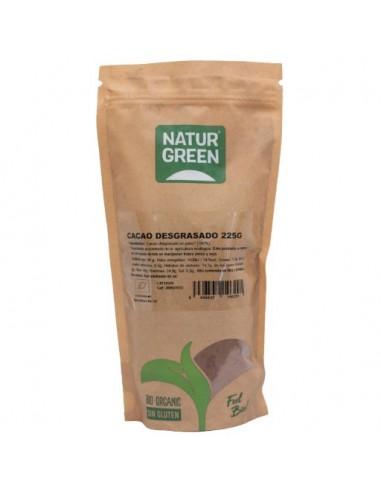 Cacao desgrasado Bio 225g Naturgreen