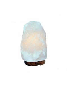 Lámpara de sal blanca 1-2kg...