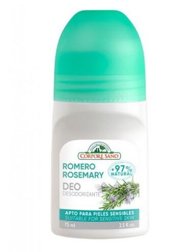 Desodorante de romero rollon 75ml...