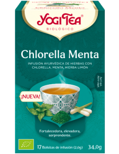 Yog Tea Chlorella Menta 17...