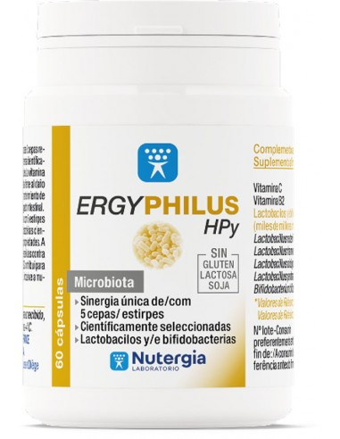 Ergyphilus HPy 60caps Nutergia