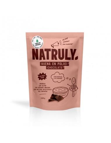 Harina de avena sabor chocolate Bio...