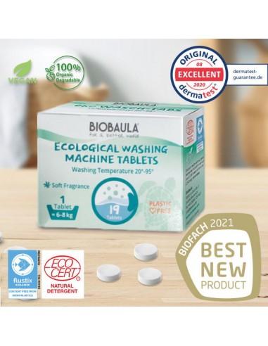 Detergente lavadora Bio 19 pastillas...