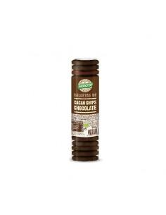 Galleta cacao con chips de...
