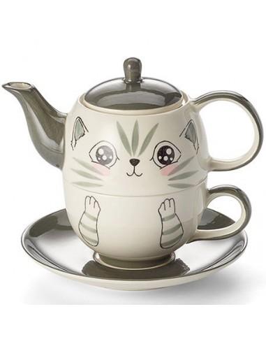 Set Feli, cerámica Tea for One