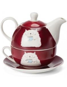 Set barny, porcelana tea...