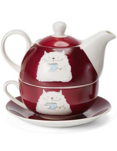 Set barny, porcelana tea for one