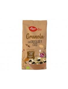 Granola con chocolate y...