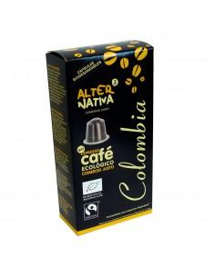 Café Colombia en cápsulas...