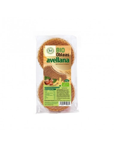 Oblea con avellanas Bio 175g Sol Natural