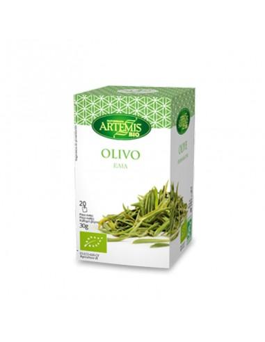 Infusión olivo Bio 20 filtros Artemis