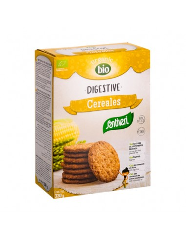 Galletas digestive cereales Bio 330g...