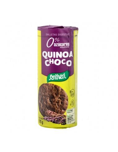 Galletas digestive quinoa choco 175g...