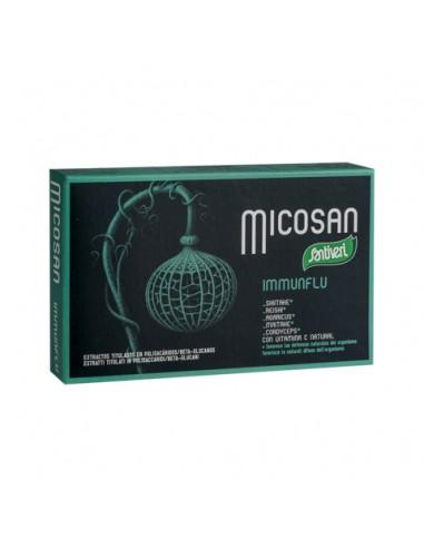 Micoxan Immunflu 40caps Santiveri