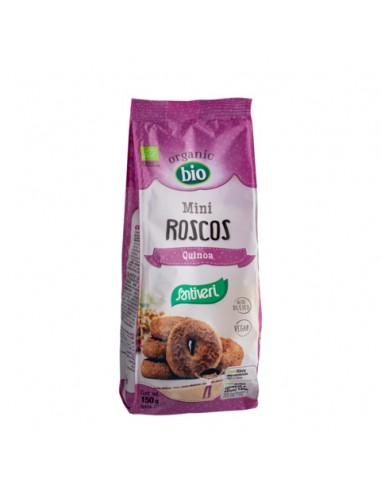Mini roscos de quinoa Bio 150g Santiveri